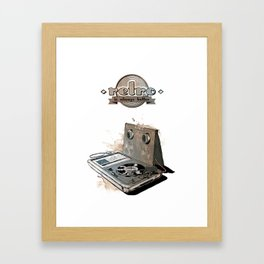 Retro is always better Framed Art Print