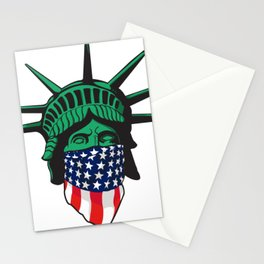 Statue of Liberty USA Stationery Cards