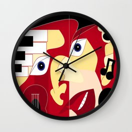 Soul Man Wall Clock