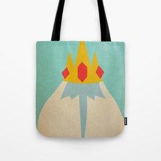 Minimalist Adventure Time Ice King Tote Bag