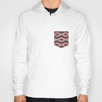 navajo Hoodies featuring Navajo red by spinL