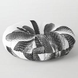 Black White Cactus #1 #plant #decor #art #society6 Floor Pillow