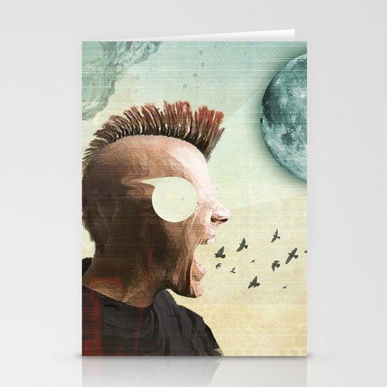 luna mohawk  Stationery Cards