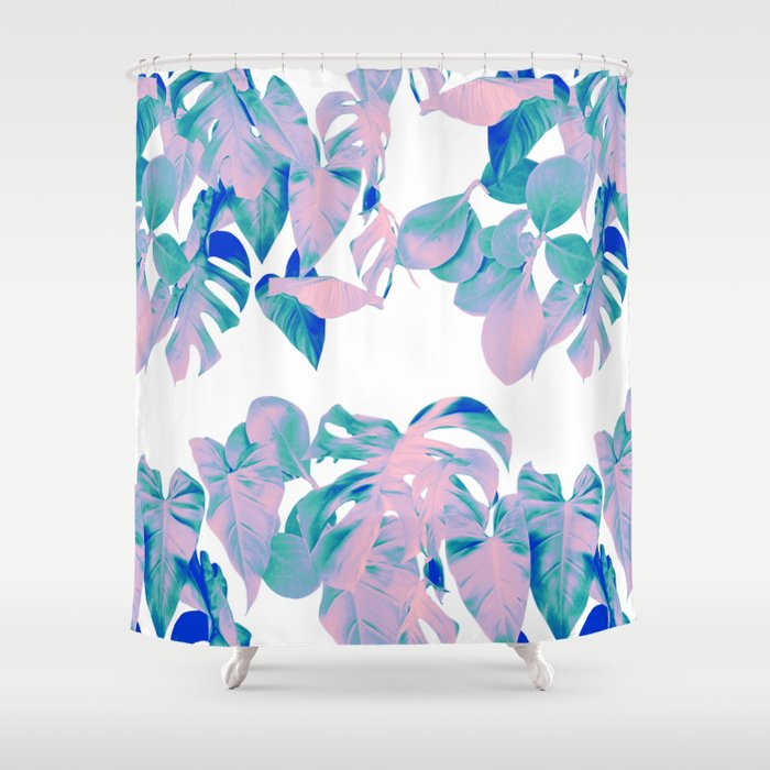 CHEESE PLANT Shower Curtain