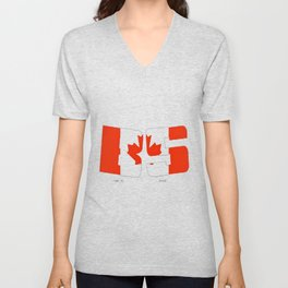 BS Canada Unisex V-Neck
