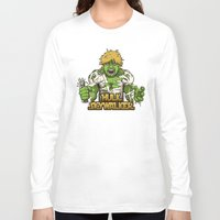 luke hemmings Long Sleeve T-shirts featuring Angry Luke by le.duc