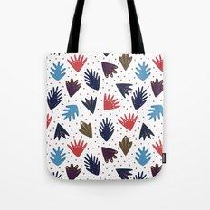 Scandi Leaves Tote Bag