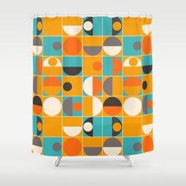 Panton Pop Shower Curtain