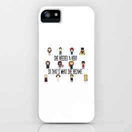 So That's What She Became iPhone Case