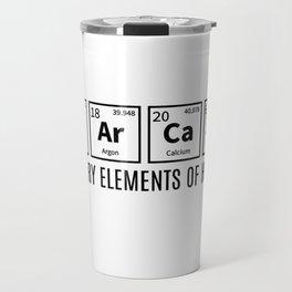 Primary Elements Of Humor Travel Mug