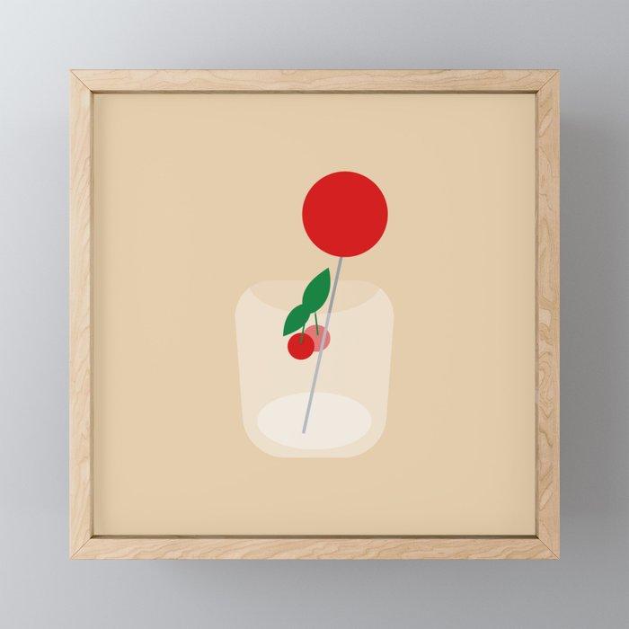 Little Treat Framed Mini Art Print