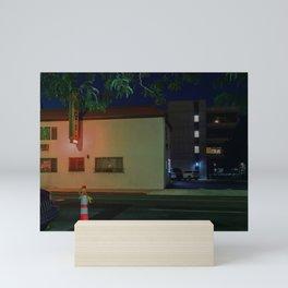 Hotel Lights Mini Art Print