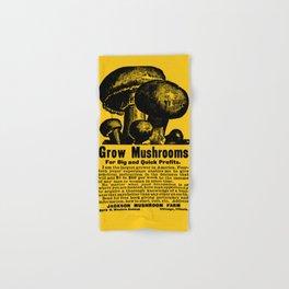 Grow Mushrooms! Hand & Bath Towel