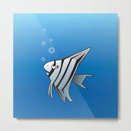 Little Angel fish Metal Print