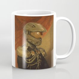 Halo Master Chief Spartan 117 Class Photo General Painting Fan Art Coffee Mug
