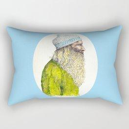 Beardy Man Rectangular Pillow