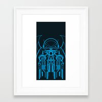 robot Framed Art Prints featuring Robot by Martin Laksman