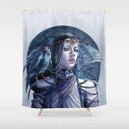 Ravenn portrait Shower Curtain