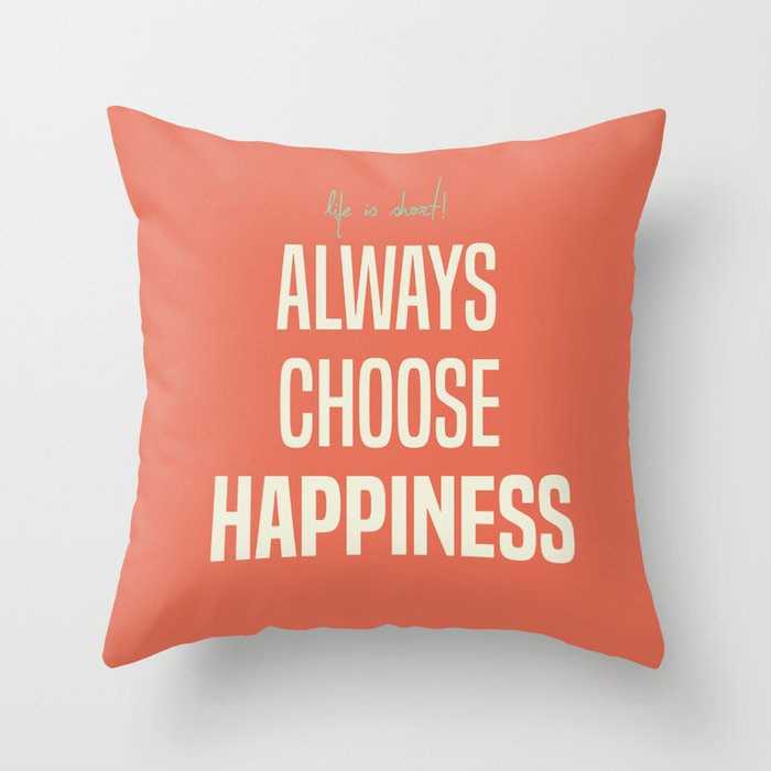 Always Choose Happiness Positive Quote Inspirational Happy Life