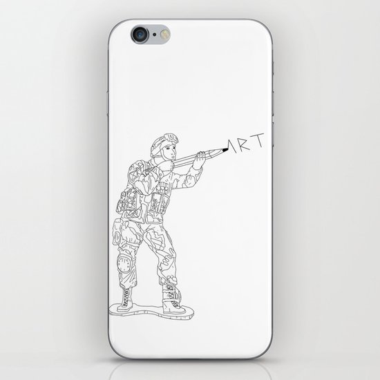 Military Art iPhone & iPod Skin