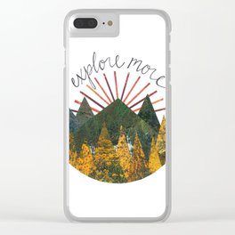 Explore More Clear iPhone Case
