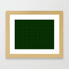 Forbes Tartan Framed Art Print