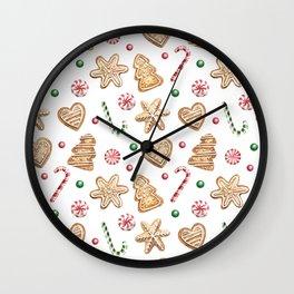 Christmas cookies Wall Clock