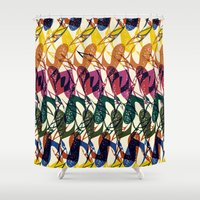 africa Shower Curtains featuring Africa by Kaotiña