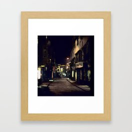 Night Shambles Framed Art Print