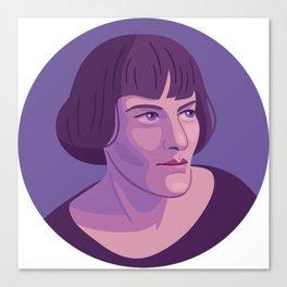 Queer Portrait - H.D. Canvas Print