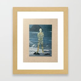 Old Man and The Sea Framed Art Print