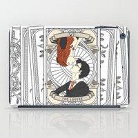 tarot iPad Cases featuring Harry Potter Tarot by Luke Eckstein