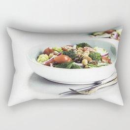 healthy salad Rectangular Pillow
