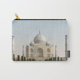 Visit Taj Mahal Carry-All Pouch