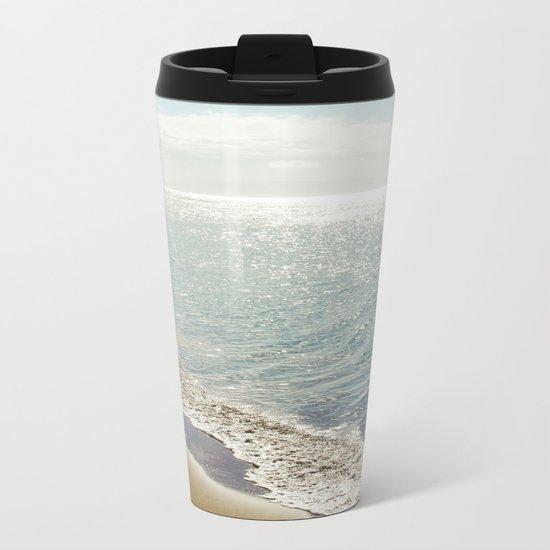 beauty and the beach Metal Travel Mug