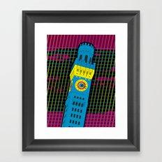 Bawlmer in CMYK Framed Art Print