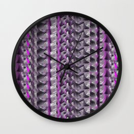 Striped Whimsy Wall Clock