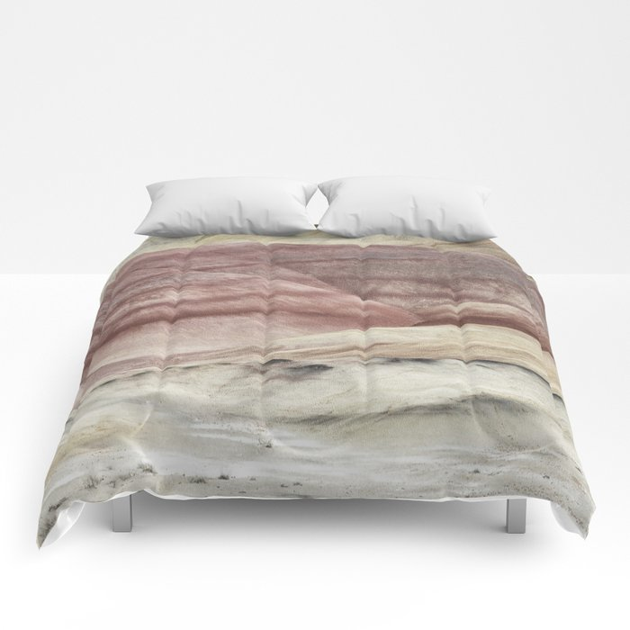 Hills as Canvas, No. 3 Comforters