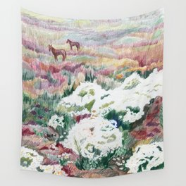 Wild chamomiles Wall Tapestry