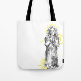 feminist bones Tote Bag