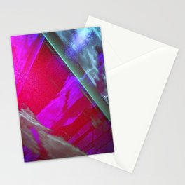 Signs in the Sky Collection III- Streaks and lights Stationery Cards