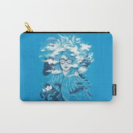 Queen of Waves Carry-All Pouch