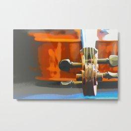 Cello Mood Metal Print