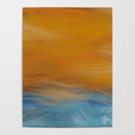 Stormy Seas Original Digital Painting #society6 #buyonline Poster