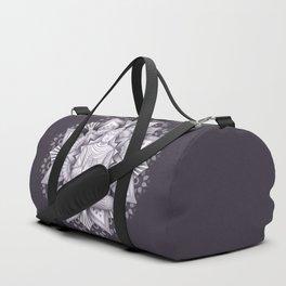 Black Mandala Duffle Bag