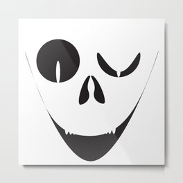 Evil Smile Metal Print