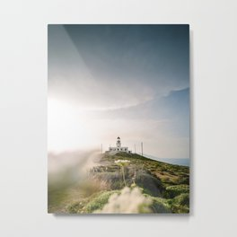 To the Lighthouse Metal Print