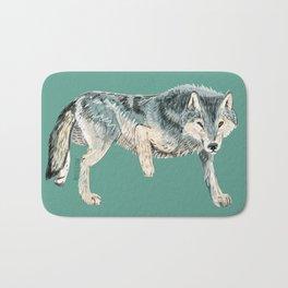 Totem Polar wolf Bath Mat