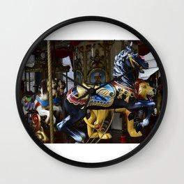 Merry Go Round - Montecatini Terme , Italy Wall Clock