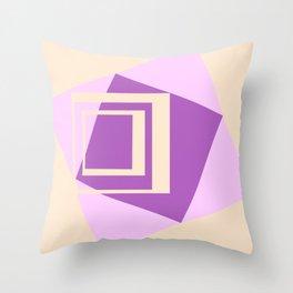 Squaroids 1 Throw Pillow